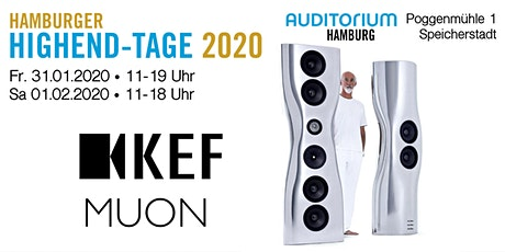Hamburger HIGHEND-TAGE 2020: KEF Tickets