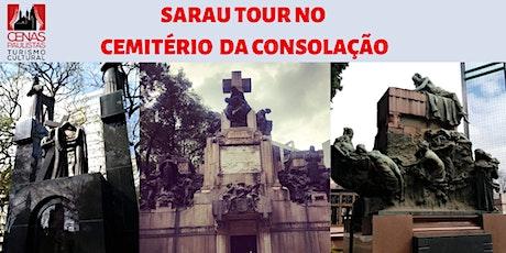 SARAU TOUR NO CEMITÉRIO DA CONSOLAÇÃO ingressos