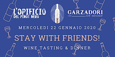 Stay with Friends! Marco Buvoli @ Garzadori 22.01.2020 tickets