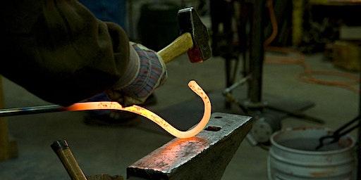 Introduction to Blacksmithing-Sat. Jan 25, 2020
