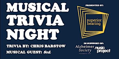 Musical Trivia Night tickets