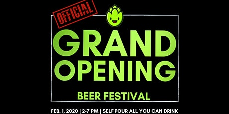 Official Grand Opening Beer Festival tickets