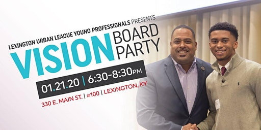 YPinLex 3rd Annual Vision Board Party