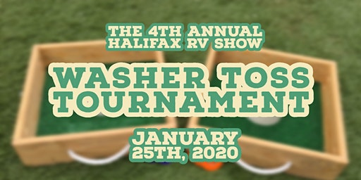 The 4th Annual Halifax RV Show Washer Toss Tournament