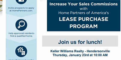 Home Partners of America Lunch & Learn