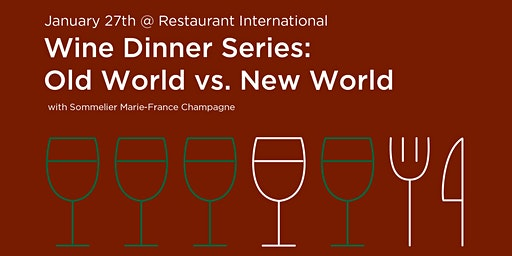 Old World vs. New World Wines with Sommelier Marie-France Champagne