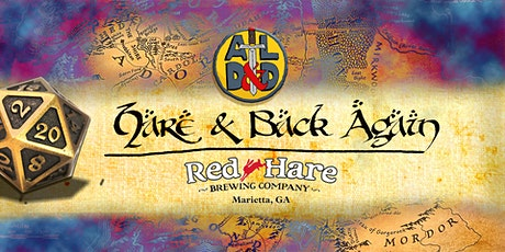 Hare and Back Again: Dungeons and Dragons tickets