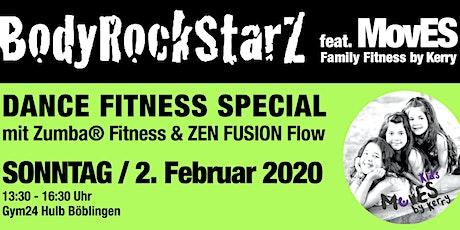 BodyRockStarZ - DANCE FITNESS PARTY mit Zumba® Fitness und ZEN FUSION Flow Tickets