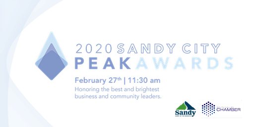 Sandy City Peak Awards 2020
