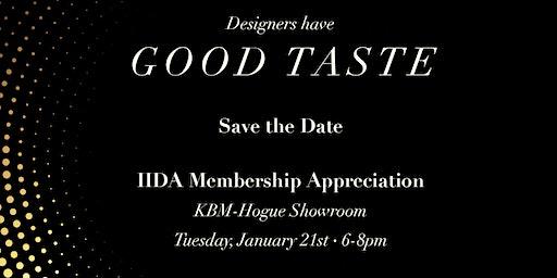 A Pair! Sacramento IIDA Membership Appreciation