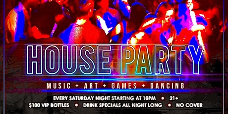 House Party Saturdays tickets
