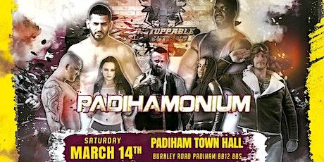LIVE Pro Wrestling in Padiham - March Mayhem tickets