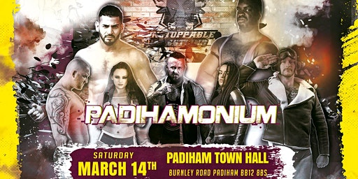 LIVE Pro Wrestling in Padiham - March Mayhem