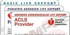 AHA Re-certification of ACLS/BLS/PALS