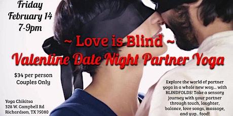 Love is Blind Valentine Date Night Partner Yoga tickets