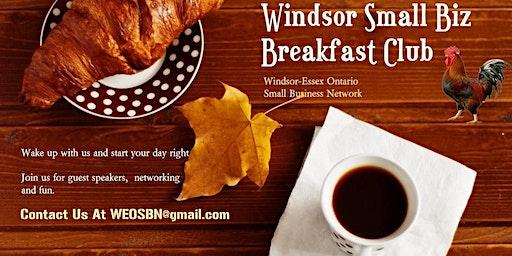 W.O.N Small Biz Breakfast At The LumberJack