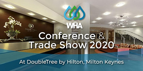 18th March Pre Conference / 19th March WHA 2020 Conference & Trade Show tickets