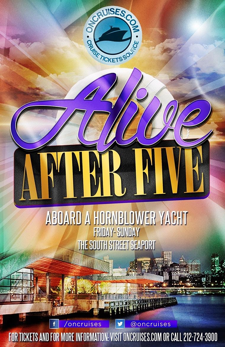 Alive After Five Friday Cruise in New York