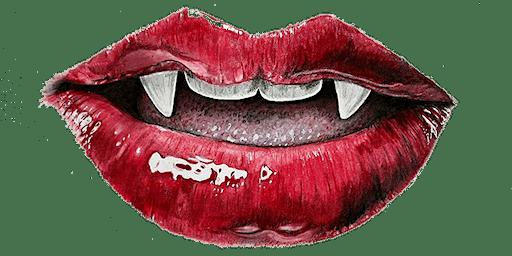 Cherry Noir Vampire Valentine - w/Vampire Roleplay Class at 10:00pm - Non-Gendered Thurs - Feb 6, 2020