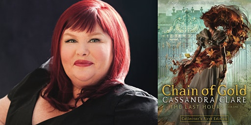 Cassandra Clare at ASC's Presser Hall, moderated by Holly Black!