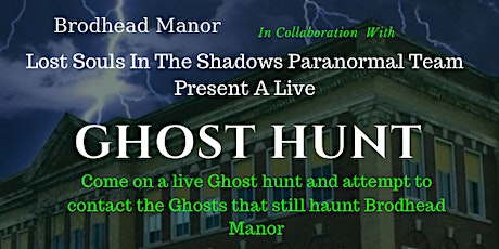 Live Ghost Hunt tickets