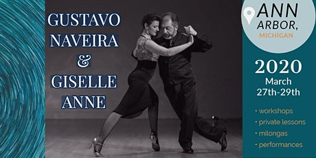 Gustavo Naveira and Giselle Anne Intensive Workshops in Ann Arbor tickets