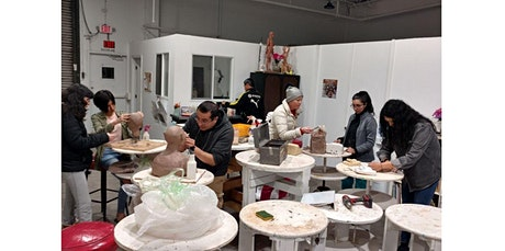 Clay Sculpture & Mixed Media (3 hours) (04-06-2020 starts at 7:00 PM) tickets