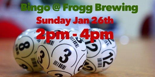 Bingo @ Frogg Brewing