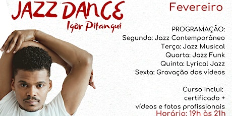 INTENSIVO JAZZ DANCE - Igor Pitangui ingressos