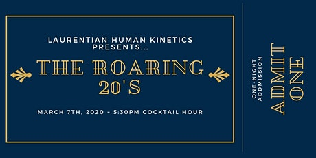 The Roaring 20's - Human Kinetics Gala 2020 tickets