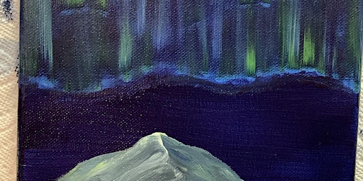 Easy Northern Lights painting $30 (sale!)
