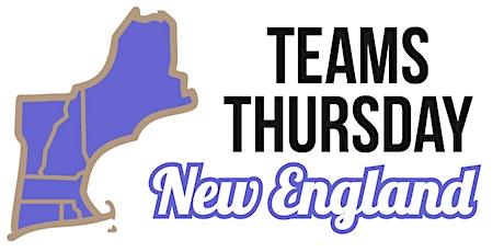 Teams Thursday New England 2020 tickets