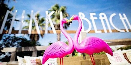 Pearl Lounge in Nikki Beach Sundays by Johnny Salazar. Beach Party Miami
