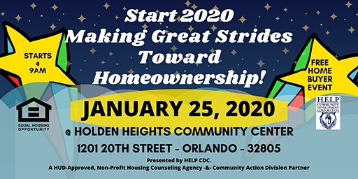 2020 KICK-OFF FREE HOME BUYER EVENT