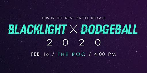 Blacklight Dodgeball 2020