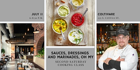 Sauces, Dressings and Marinades, Oh My tickets