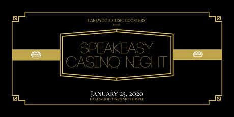 2020 Speakeasy Casino Night Fundraiser tickets