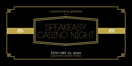 2020 Speakeasy Casino Night Fundraiser