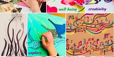Creative art workshop tickets