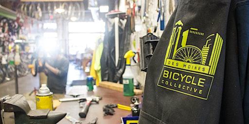 DMBC Bike Maintenance 101 March Class, Thursday Sessions