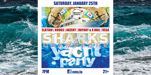 Sharks & Champagne Yacht Party (Newport Beach)