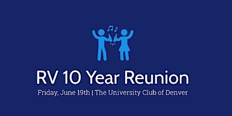 RVHS 10 Year Reunion tickets