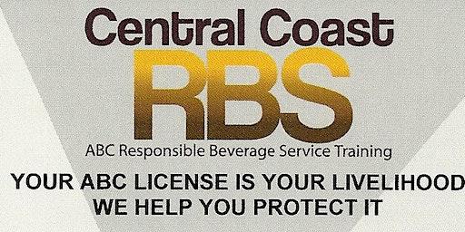 Responsible Beverage Training January 23, 2020