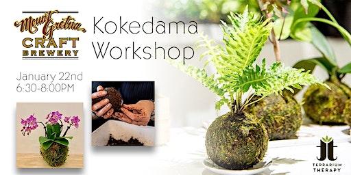 Kokedama Workshop at Mount Gretna Craft Brewery