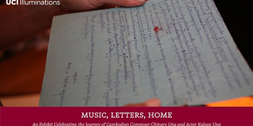 Music, Letters, Home: An Exhibit Celebrating Chinary Ung & Actor Kalean Ung