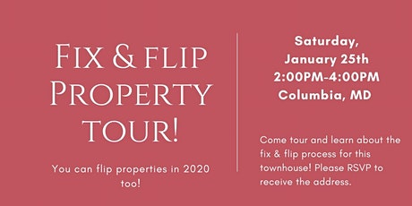 Fix & Flip Property Tour entradas