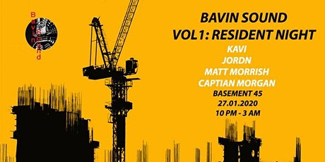 Bavin Sound Vol.1: Residents Night tickets