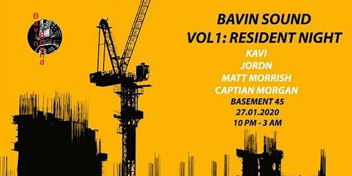 Bavin Sound Vol.1: Residents Night