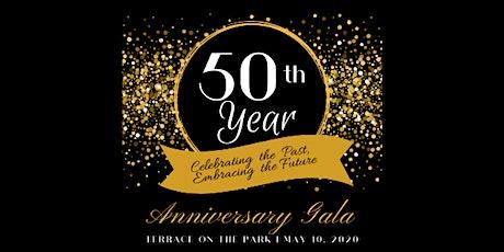 50th Year Anniversary Gala tickets