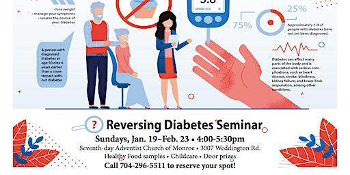 Reversing Diabetes Class!